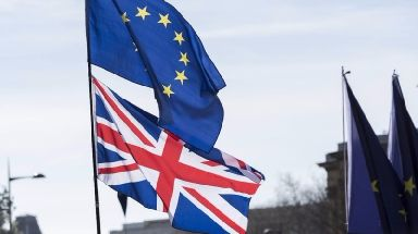 Brexit: More than 2000 Scots were polled (file pic).