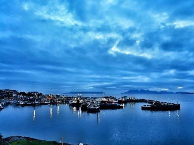 Blue hour over the harbour.