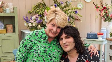 Sandi Toksvig, left, and Noel Fielding, right, are the new presenting team.