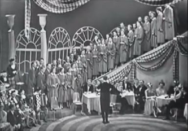 STV's first live Hogmanay show in 1957.