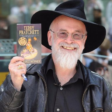 Sir Terry Pratchett's hundreds of novels include 41 'Discworld' stories