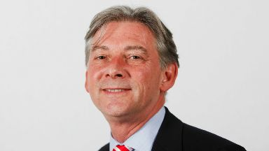 Leader: Richard Leonard has only been an MSP for a year.