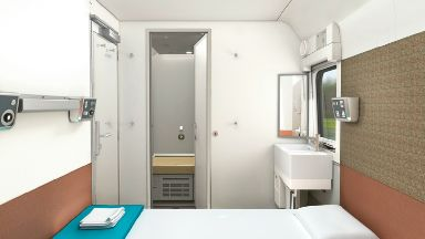 How the new 'hotel-style' rooms will look.