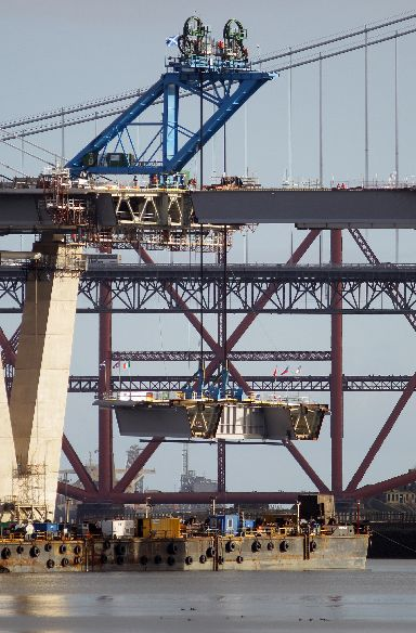 The Queensferry Crossing will take on the road traffic.