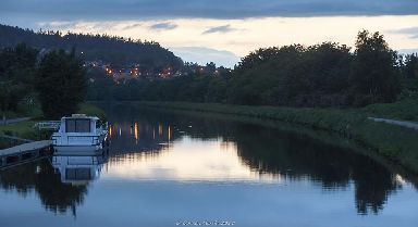 Caledonian Canal from Tomnahurich Bridge, Inverness