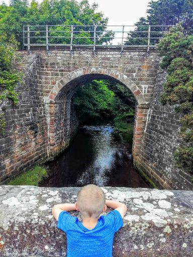 Rosskeen bridge, fascinated by the water flowing into the cromarty firth.