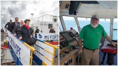 Forth Hope: Ship named by Princess Anne and Rev Wille McPherson is travelling to Peru.