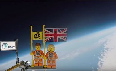 Lego in space: Brothers have bucket list of adventures.