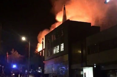 Dundee: Building has been destroyed.