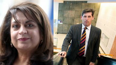 Replacement: Baroness Mobarik will take Lord Duncan's seat in Brussels.