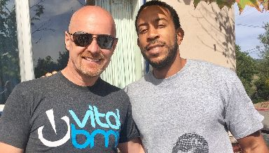 Film: John with Ludacris who plays his dad in the film