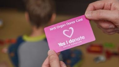 You can sign up to become a donor online.