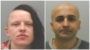 Carolann Gallon and Abdulhamid Minoyee were jailed on Friday at Newcastle Crown Court.