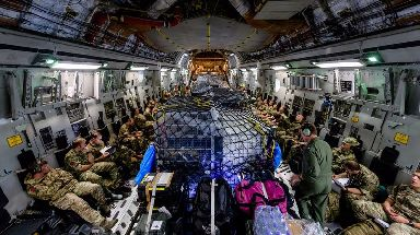 Kit and personnel from the UK are being flown to the Caribbean to help.