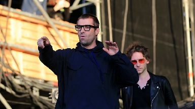Liam Gallagher is feuding with his brother.