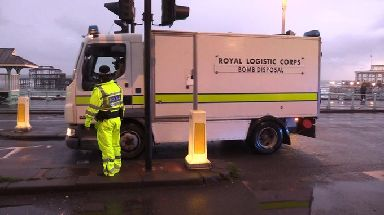 Bomb disposal have been called to the scene