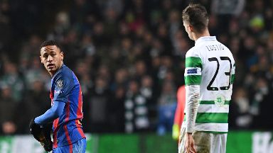Neymar faced Celtic in Barcelona colours last season.