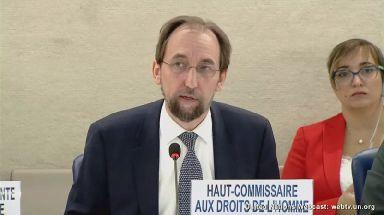 Zeid Ra'ad al-Hussein, the UN human rights chief