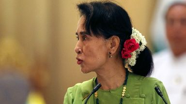 Nobel Peace Prize laureate Aung San Suu Kyi, seen as the leader of Myanmar, has failed to condemn the violence against Muslims