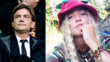 John Michie and daughter Louella Eve Fletcher-Michie.
