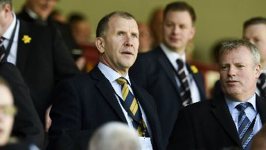 Comfortable: Regan says the SFA are happy with their decision.