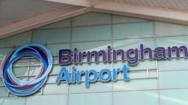 The men were detained at Birmingham Airport after landing on a flight from Istanbul