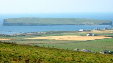 Remote: Living in Orkney comes with benefits said The Bank of Scotland.