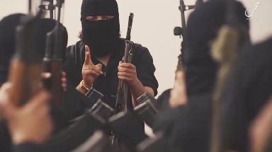 Propaganda by so-called Islamic State includes videos of young children receiving weapons training.