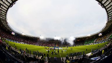 Hampden: The stadium first opened in 1903.