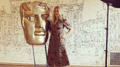 BAFTA: Edith Bowman hosted the awards.