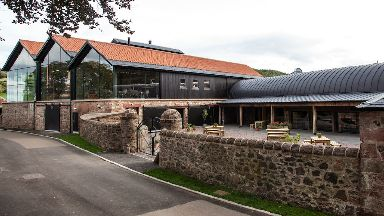Whisky: New £7m visitor centre.