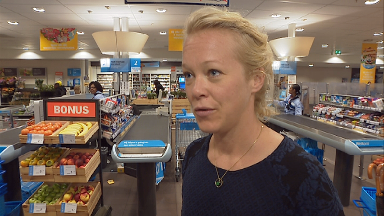 Supermarkets: Coosje Dijkstra is researching how we pick our food choices.