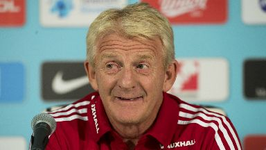 Excitement: Strachan says players can handle the spotlight.