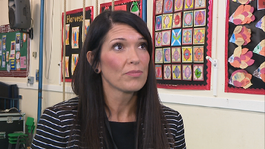 Fiona Mackenzie: Head teacher in Kilwinning pushing for healthy eating.