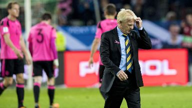 Decision: Strachan's contract is ending.