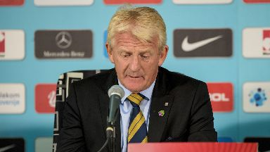 Decision: Gordon Strachan's contract is due to expire.