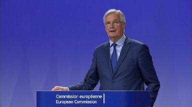 Michel Barnier said the two sides were at a 'deadlock'.