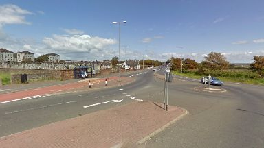 Kilwinning Road: Man died in hospital after incident.