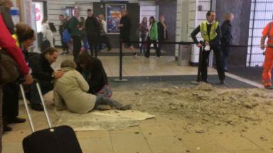 Queen Street: Debris was on floor.