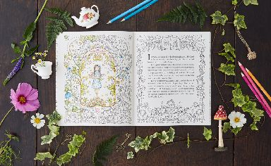 Enchanting: Johanna's new book was inspired by her daughter.