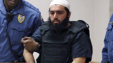 Ahmad Khan Rahimi, 29, was found guilty of laying two pressure cooker bombs.