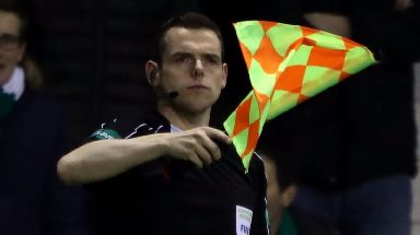 Conservative MP Douglas Ross also works as a football linesman.