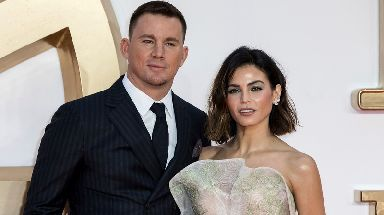 Magic Mike and Foxcatcher star Channing Tatum, seen with his wife Jenna Dewan, is one of Hollywood's best-paid actors.