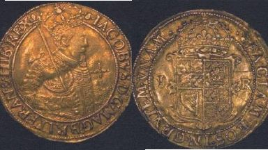 Stolen: The James the VI coin was taken in 2015.