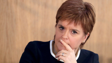 Nicola Sturgeon: The First Minister met Joseph Stiglitz at her New York hotel.