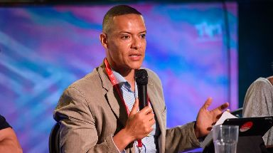 Former shadow business secretary Clive Lewis made the comments at an event backed by Momentum