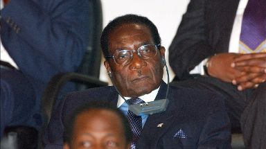 The US imposed tough sanctions on Zimbabwe in 2003 over the Mugabe government's rights abuses.