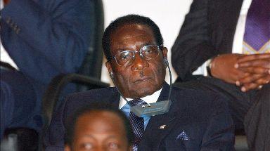 Robert Mugabe in 2003