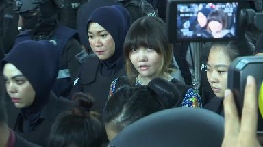 Doan Thi Huong is accused of murdering Kim Jong-nam.