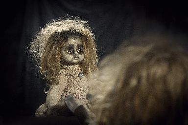 Creepy things are said to happen around the doll.
